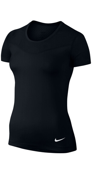 Nike Pro Hypercool SS Shirt Women black/white